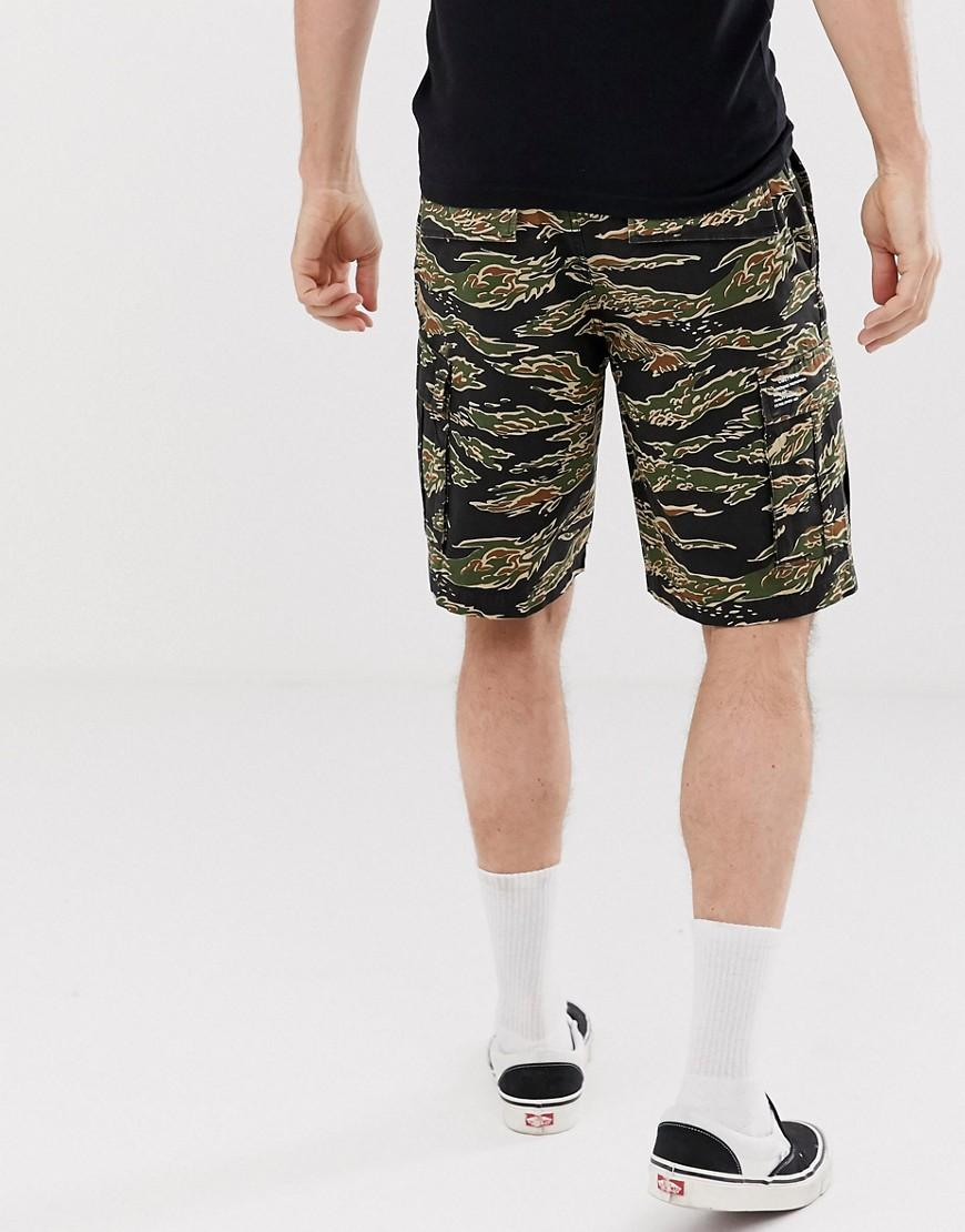 eb4d4bf59e Obey Recon Cargo Short In Tiger Camo in Green for Men - Lyst