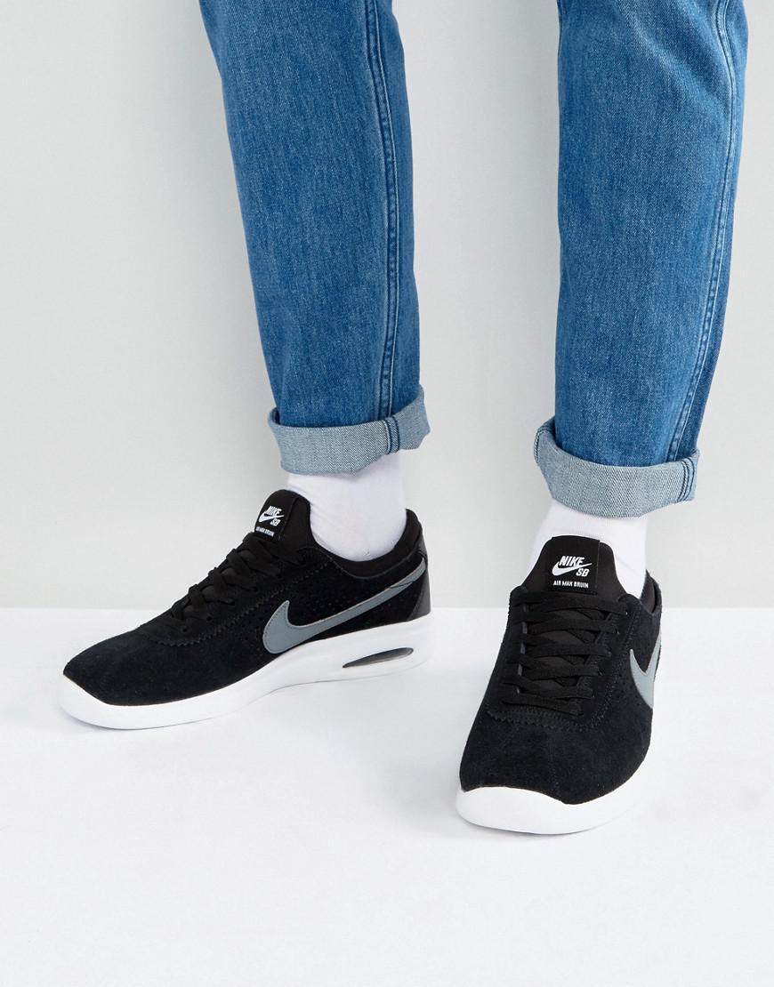 76f754417d Nike Bruin Max Vapor Sneakers In Black 882097-001 in Black for Men ...