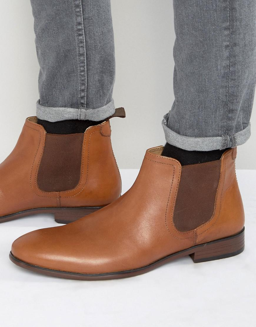 Lyst - Red Tape Chelsea Boots In Tan Leather for Men