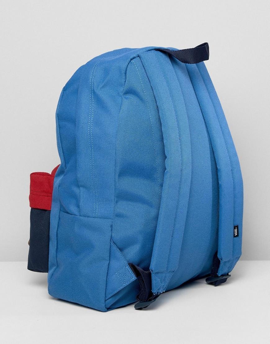 Lyst - Mochila azul Old Skool II de Vans de hombre de color Azul e11adb9d9e8