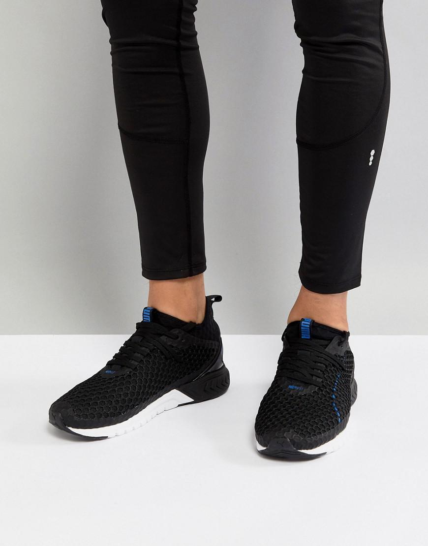 Puma Running Ignite Dual Netfit Sneakers In 19000205 Y1ana