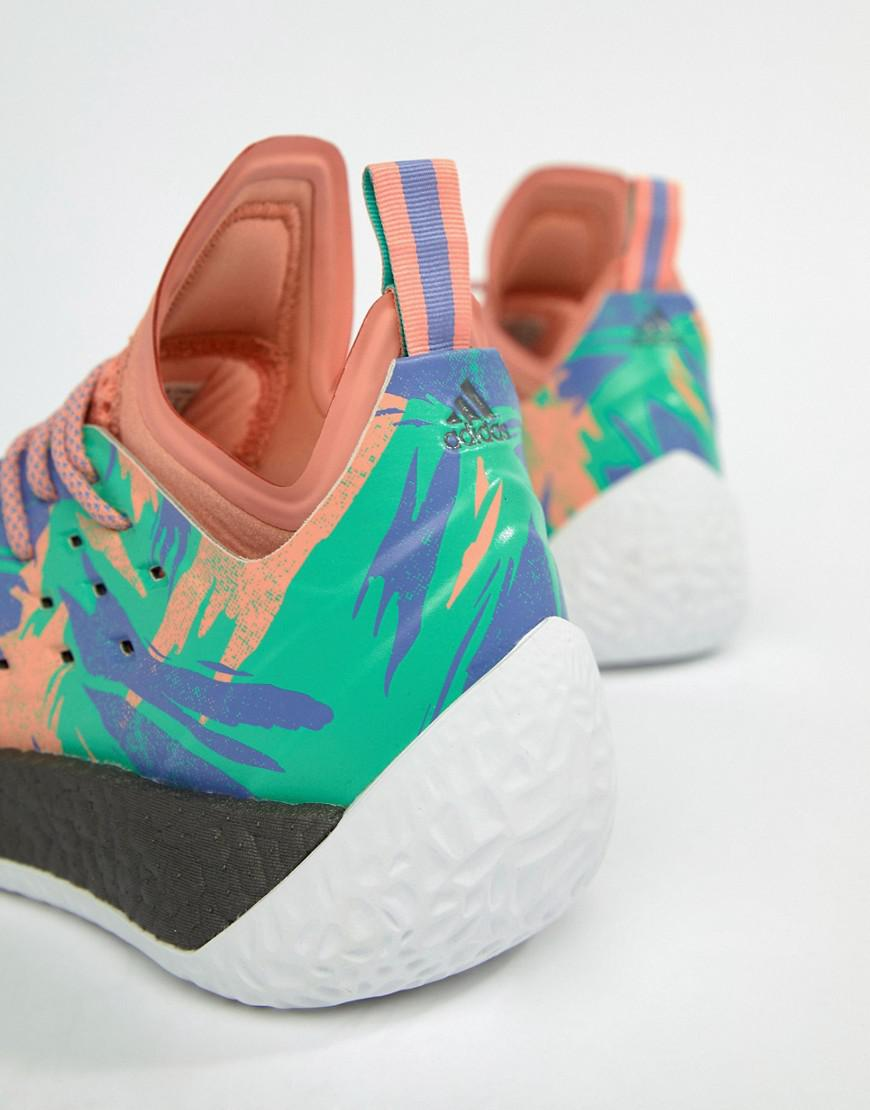adidas Basketball x Harden vol 2 graft day sneakers in ah2219 EnXbv