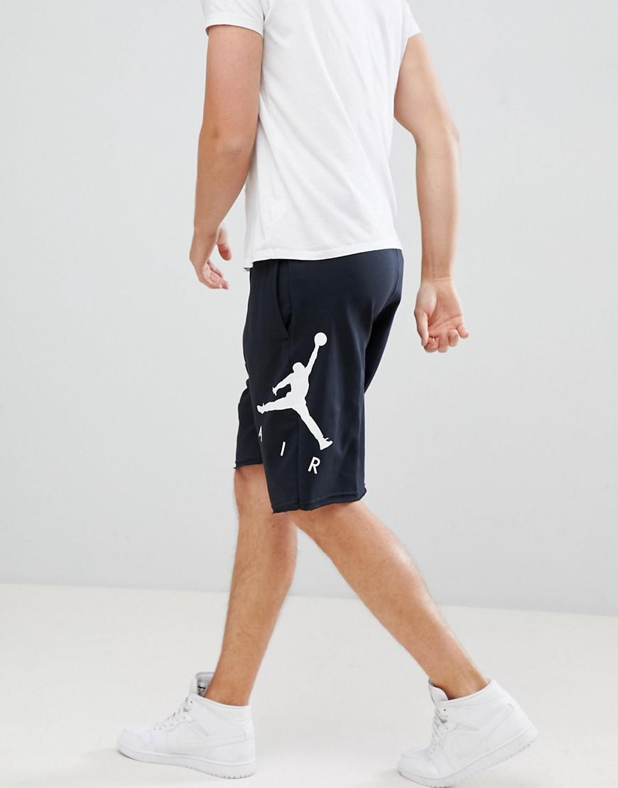 26daacfd4 Nike Shorts With Air Print In Black Aj0807-010 in Black for Men - Lyst