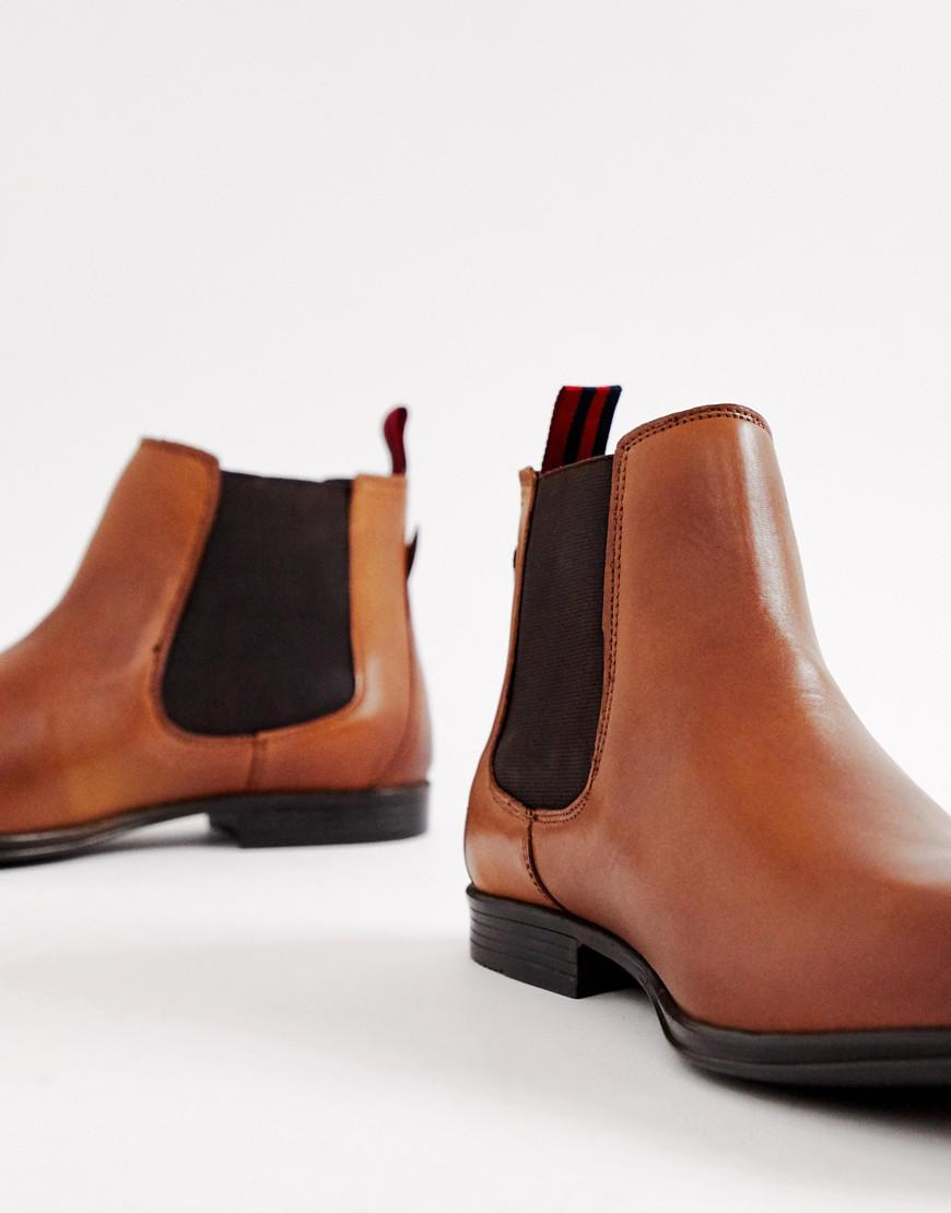8eb409e91ac Men's Brown Leather Chelsea Boot In Tan