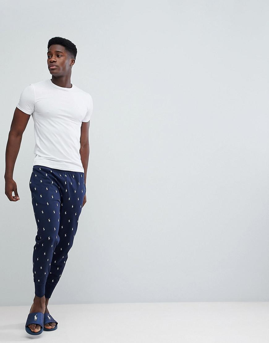 244fd6e17fe7 Lyst - Pantalon de jogging léger resserré aux chevilles à imprimé ...