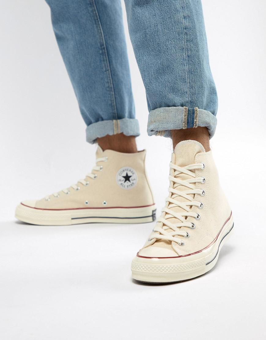Lyst - Converse Chuck Taylor All Star  70 Hi Sneakers In Parchment ... af782aa4392