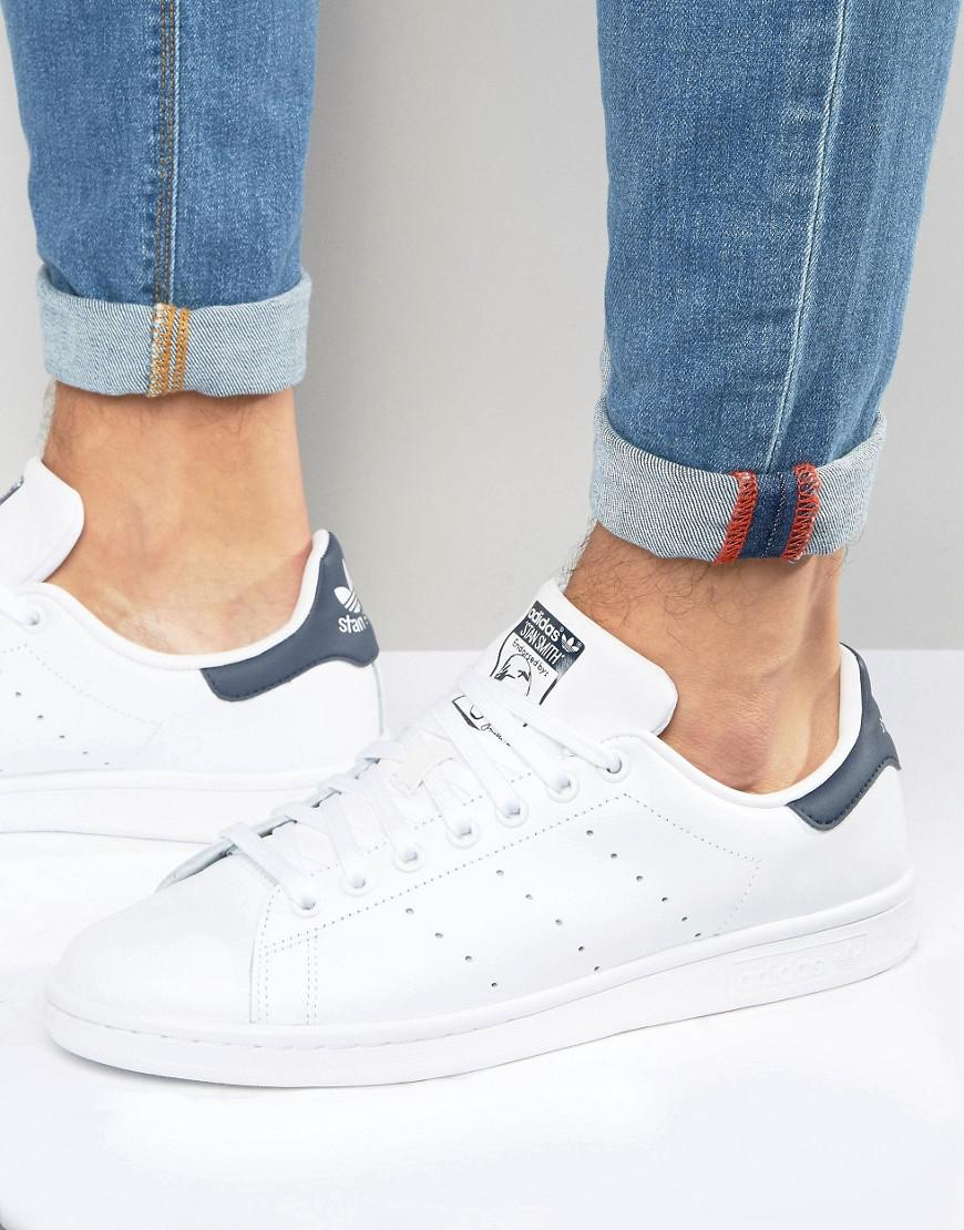 competitive price c7f3f baafb adidas Originals. Men s Stan Smith Leather Trainers In White M20325