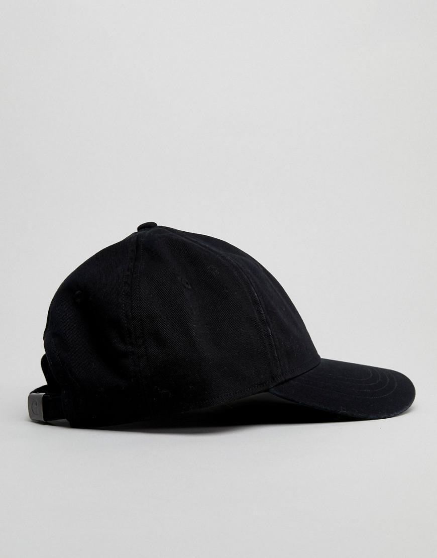 aad5b013f0f Lyst - Carhartt WIP Madison Baseball Cap In Black in Black for Men