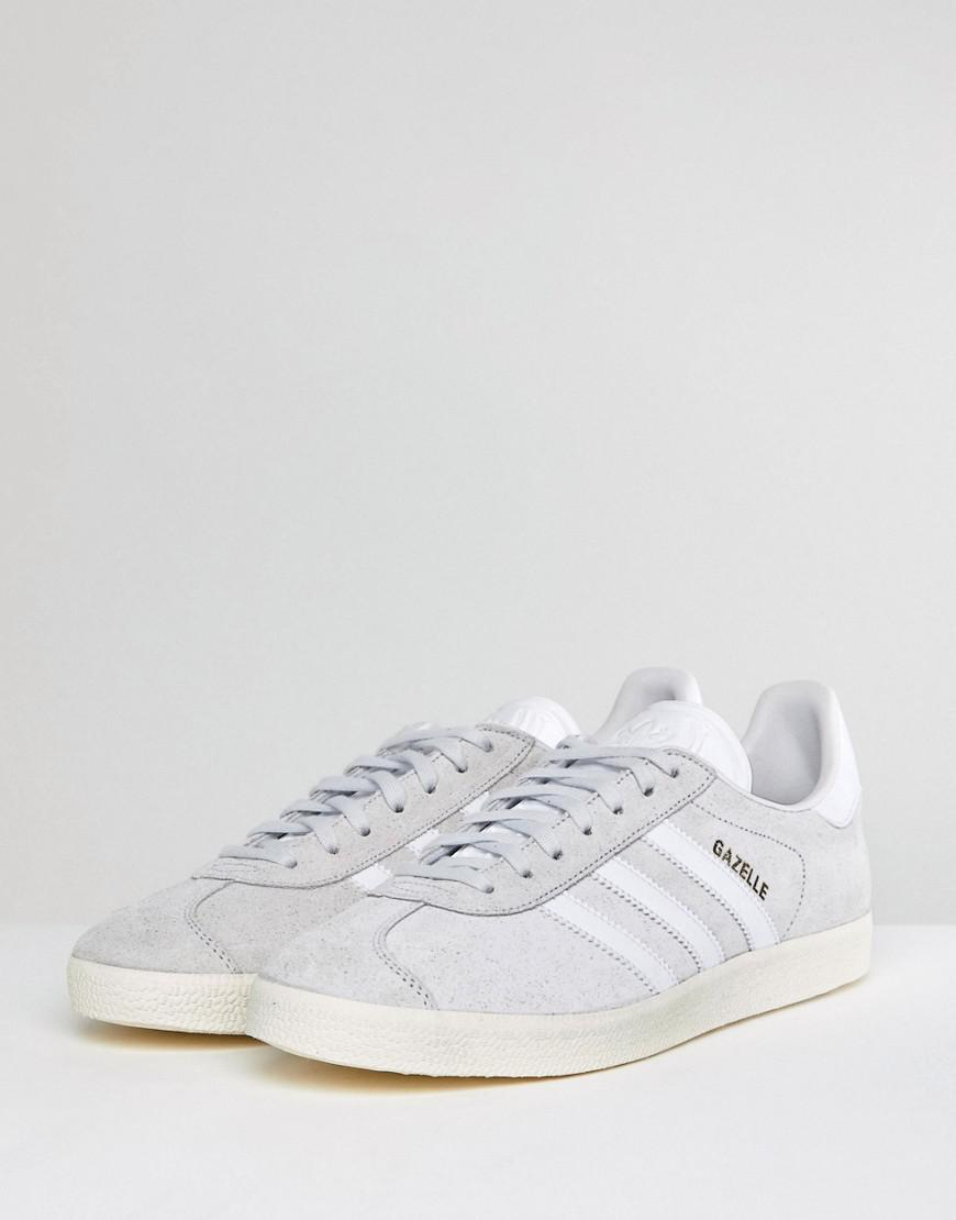 purchase cheap 04ef8 e92f6 Lyst - adidas Originals Gazelle Trainers In White Cq2799 in White for Men