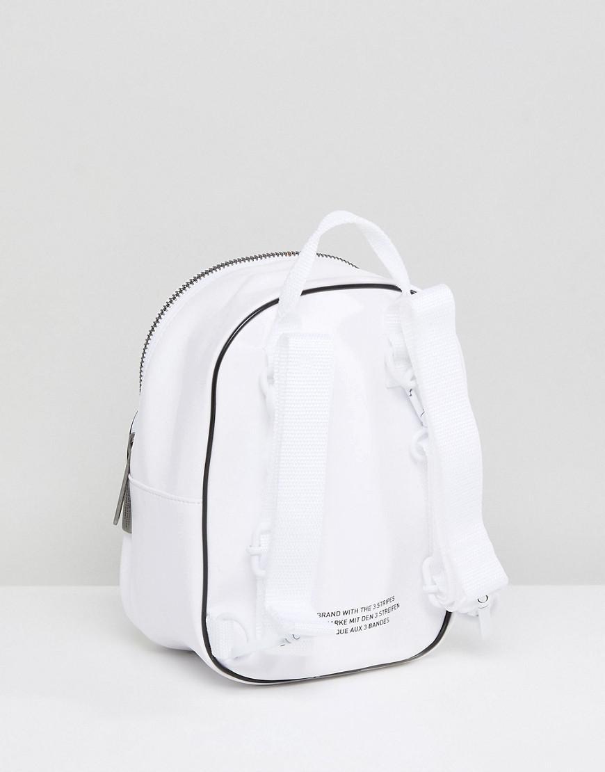 af5149aa89 Similicuir Sac Adidas Lyst Dos Originals Coloris Mini Blanc En Fw5qqHx7cI