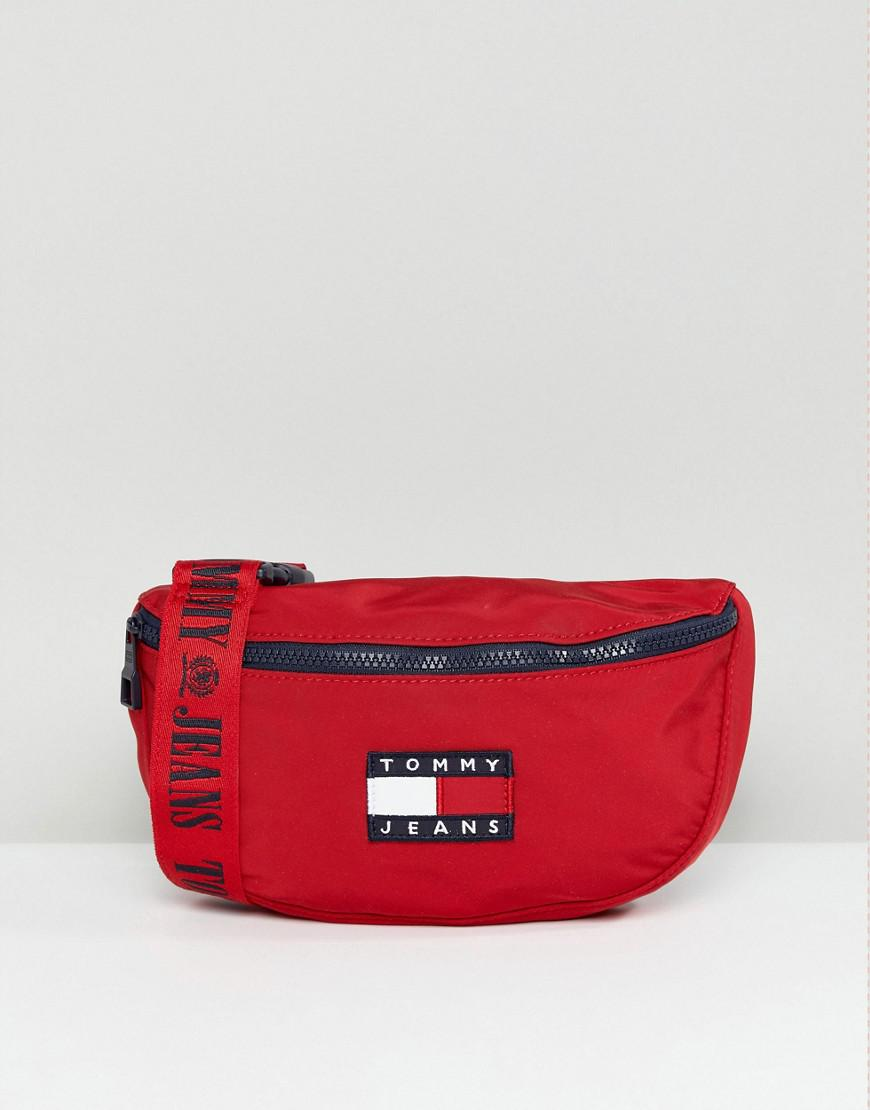c473a4c1f47 Tommy Hilfiger Tommy Jean 90s Capsule Crossbody Bag in Red - Lyst