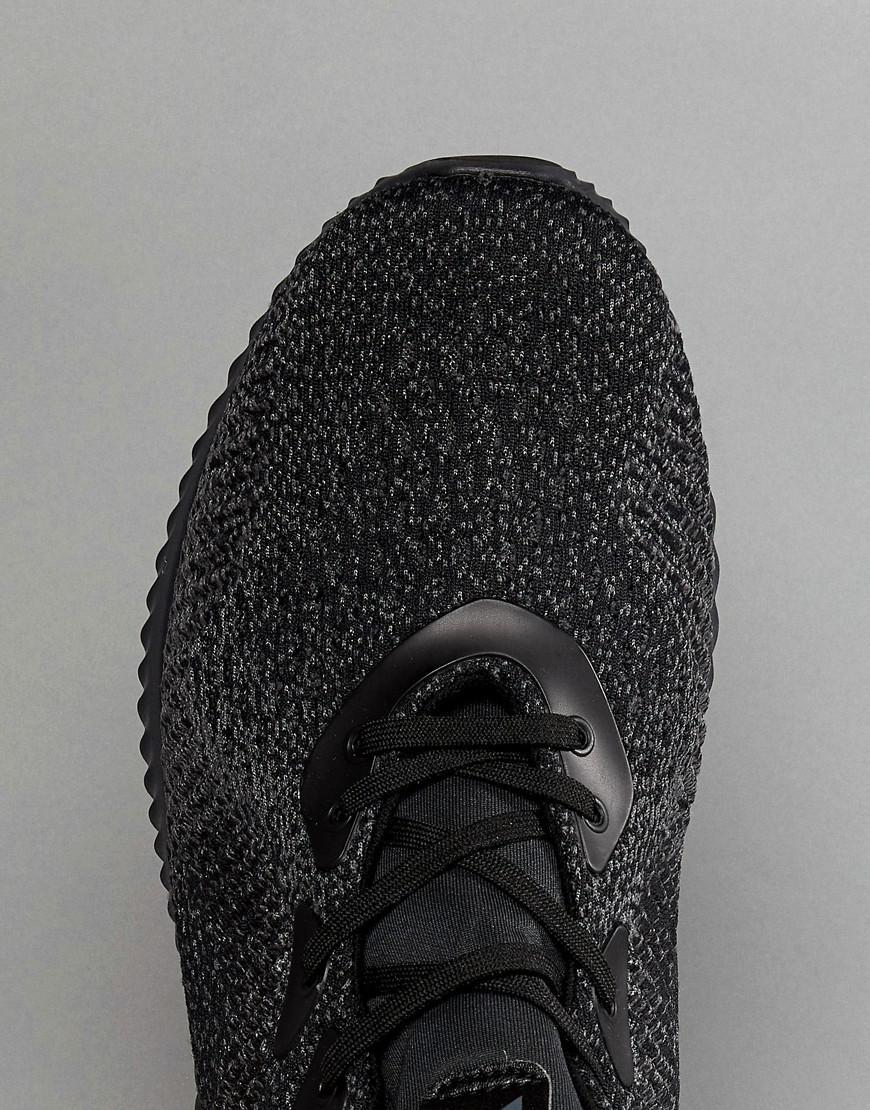 adidas correndo alphabounce formatori in nero db1090 in nero per gli uomini.