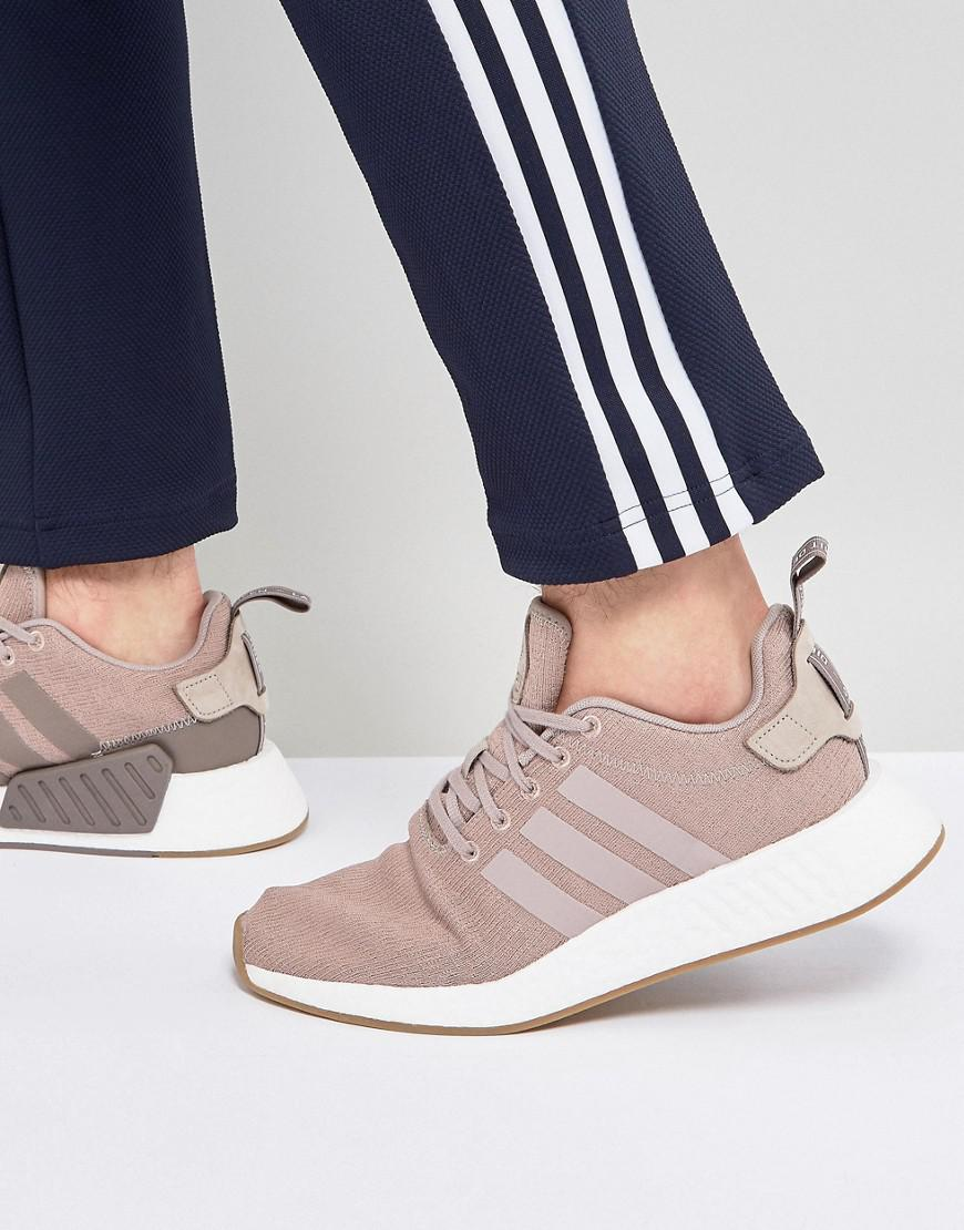 6c9d6ccf393 Adidas Originals Nmd R2 Trainers In Beige Cq2399 in Gray for Men - Lyst