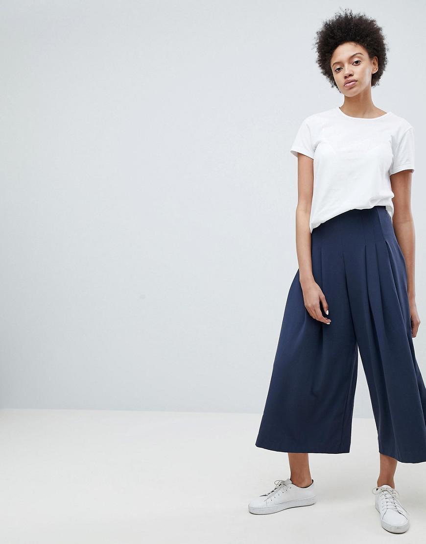Pantalon Large Jambe En Impression Graphique - Semaine D'impression Bleu Foncé e8cnuqEe
