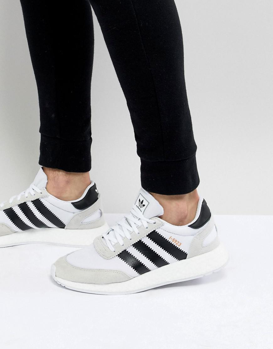 size 40 e3d3d 0def7 adidas Originals. Men s I-5923 Runner Boost Sneakers In White Cq2489