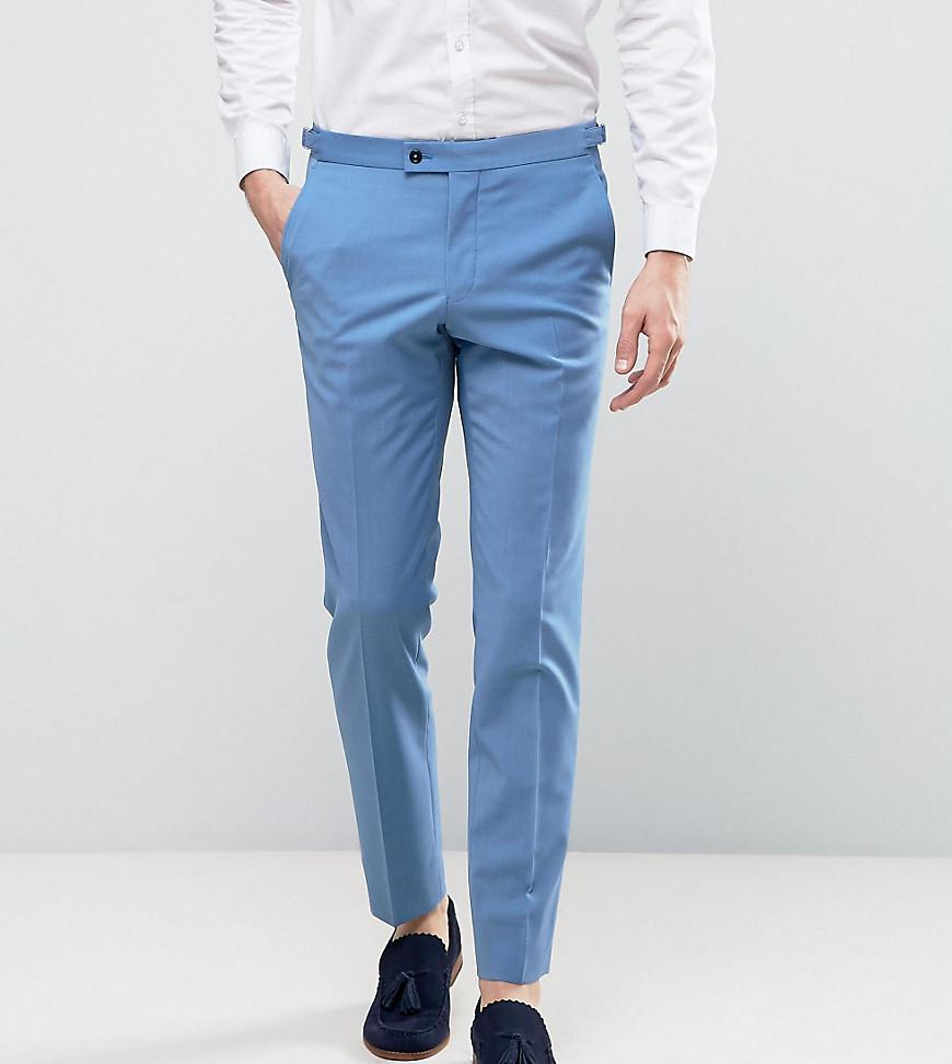 Lyst - Hart Hollywood Skinny Wedding Suit Trousers in Blue for Men