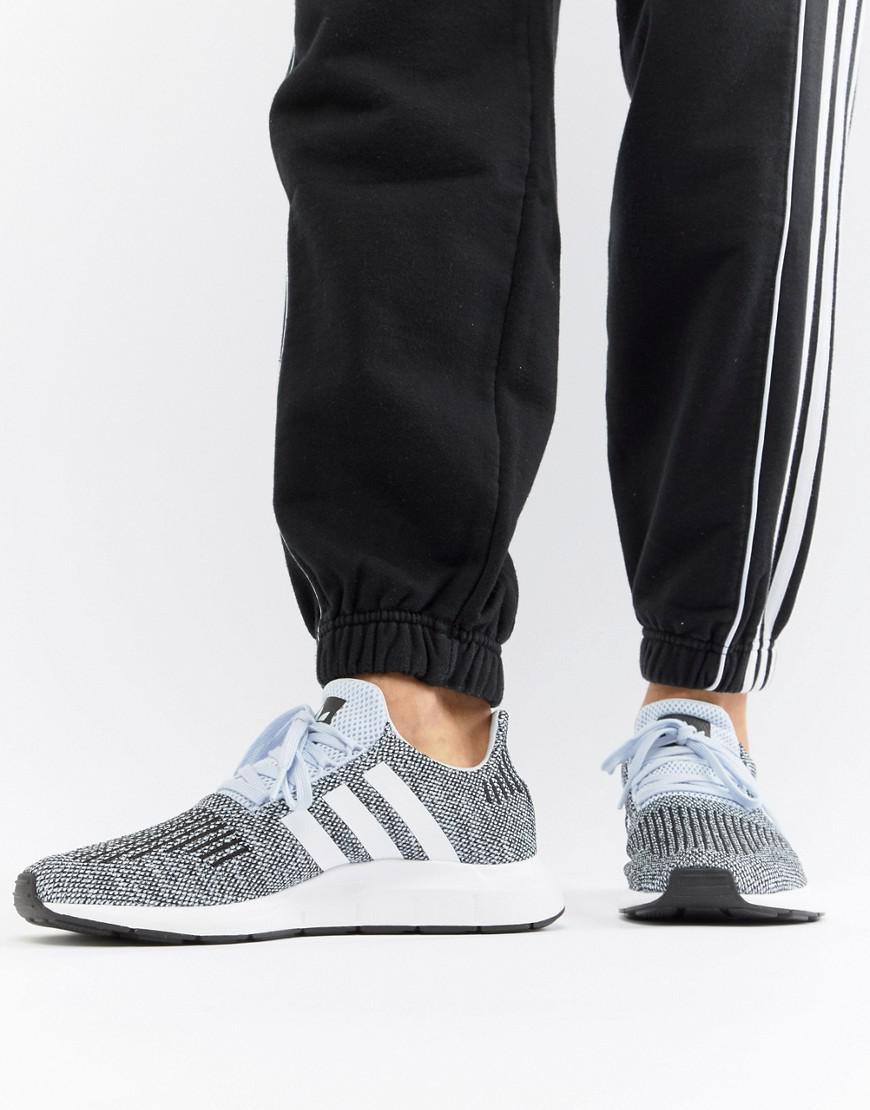 446359fbe0660 adidas Originals Swift Run Sneakers In Gray Cq2122 in Blue for Men ...
