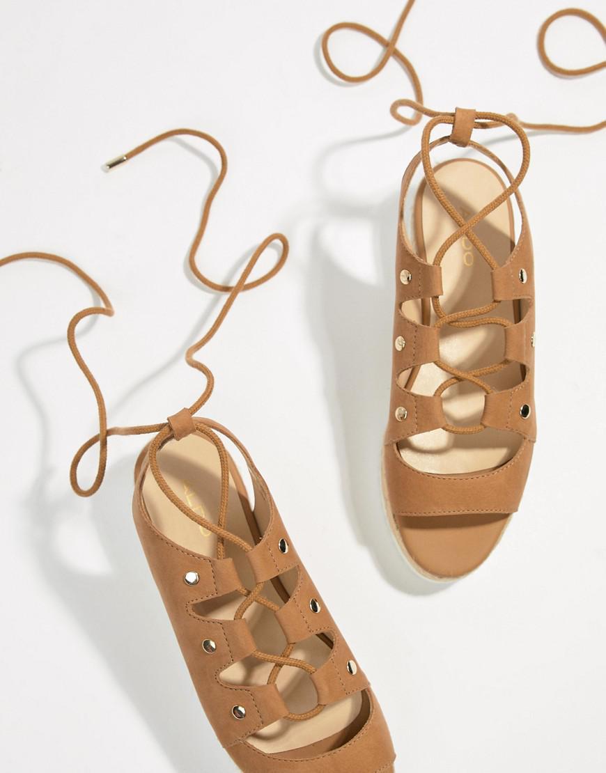 「ALDO Suede Tie Up Flatform Espadrille Sandals」的圖片搜尋結果