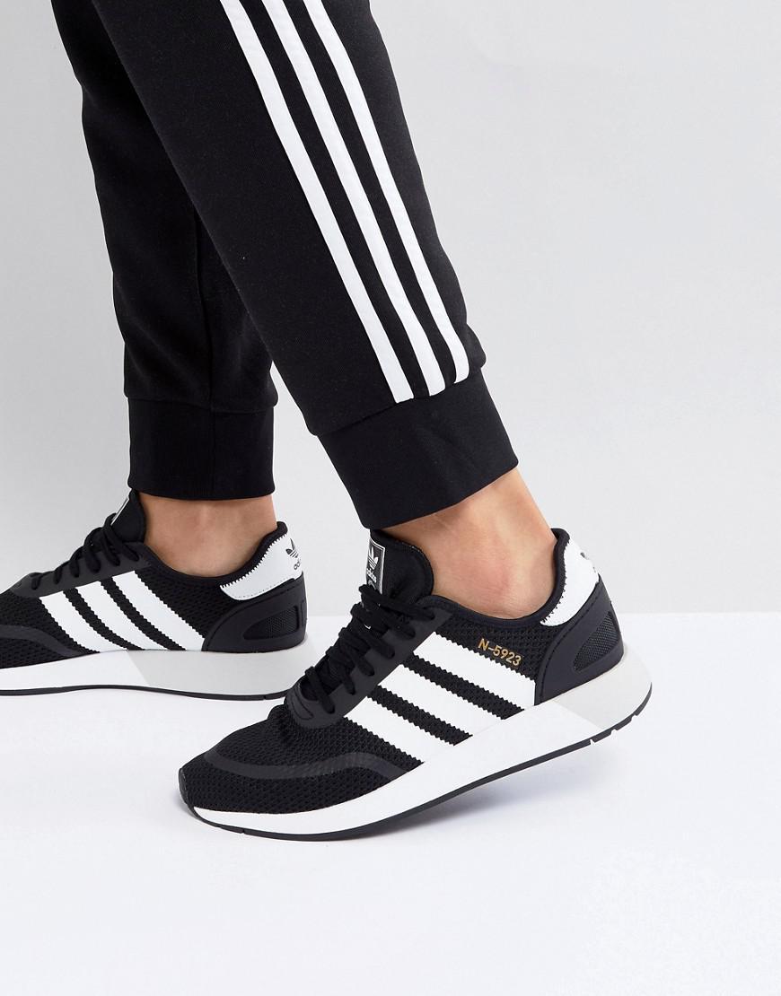 Adidas originali n 5923 runner scarpe in nero cq2337 in nero