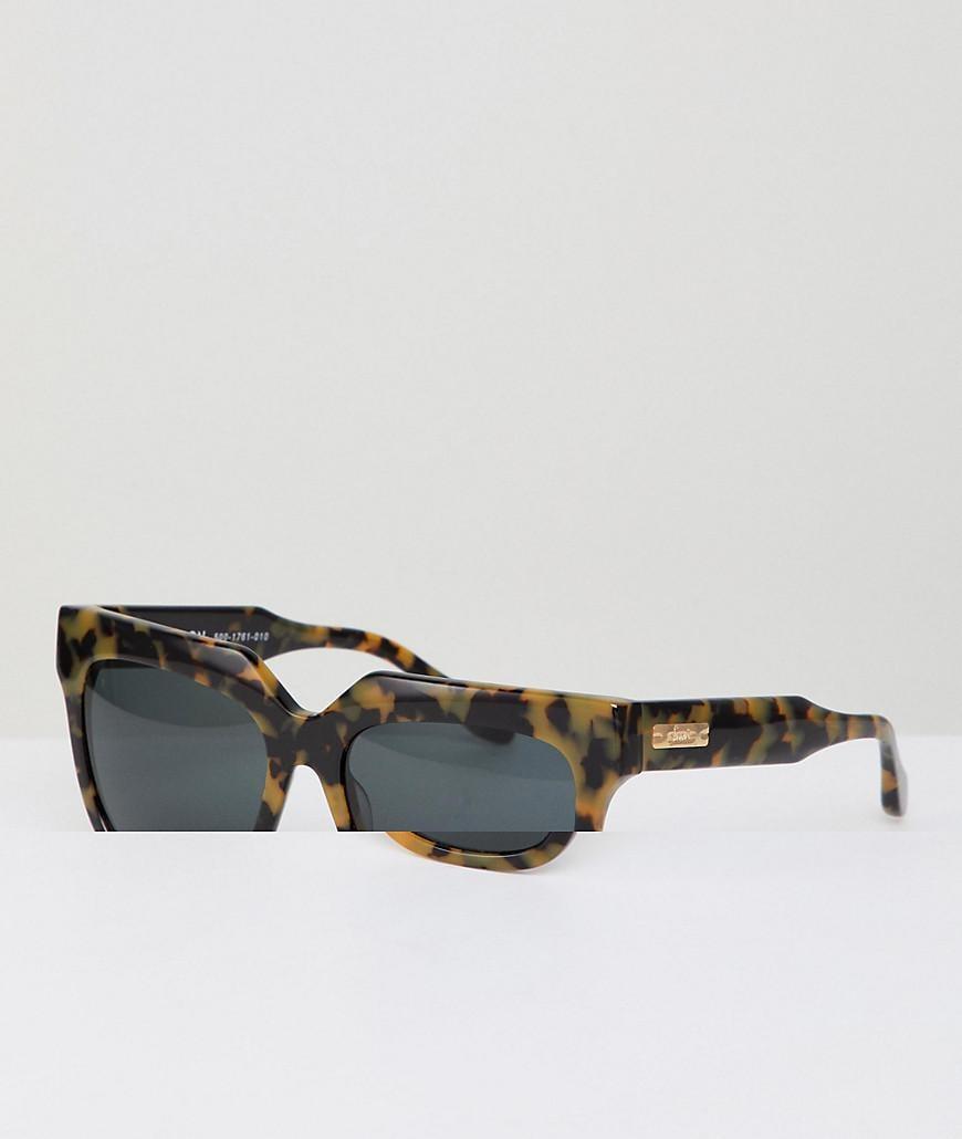 418dec16f0 Lyst - Sonix Avalon Square Sunglasses In Tort in Brown for Men