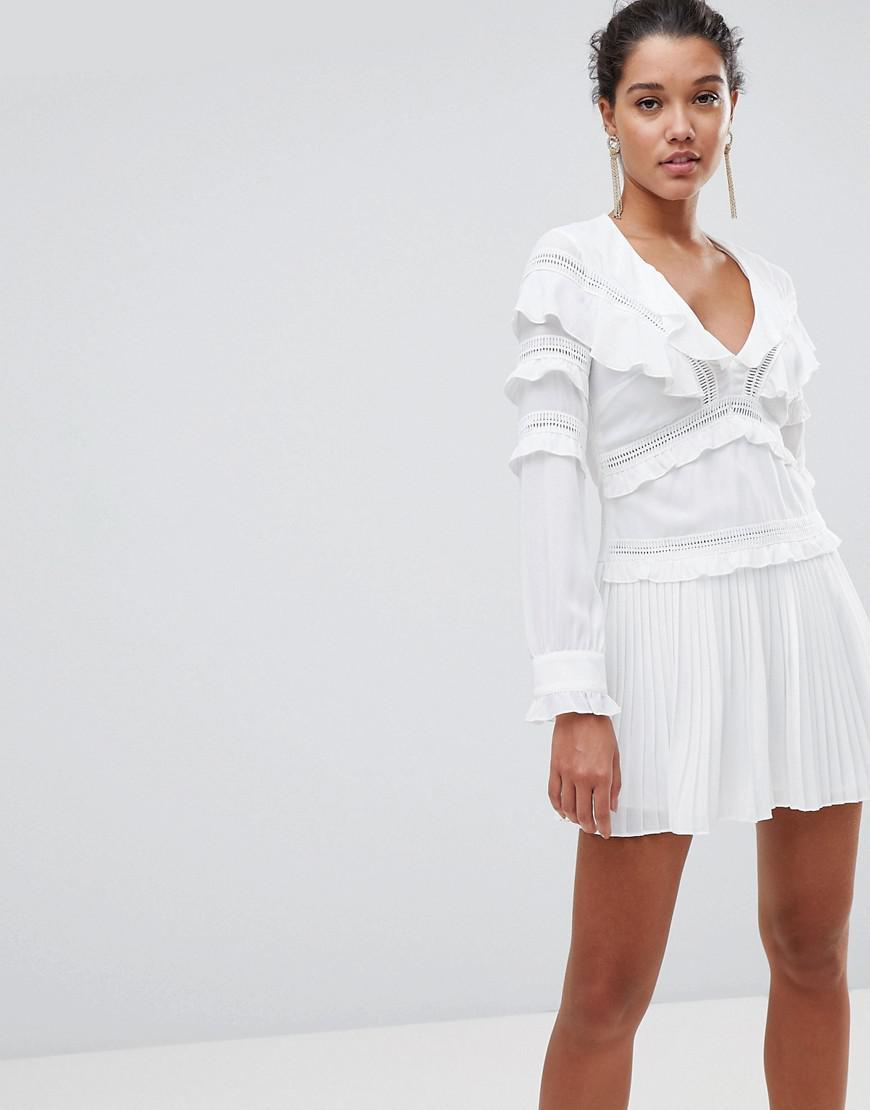 Robe Blanche De Changement Garniture Cloche Pom Pom Jolie Petite Chose ogeXaQ