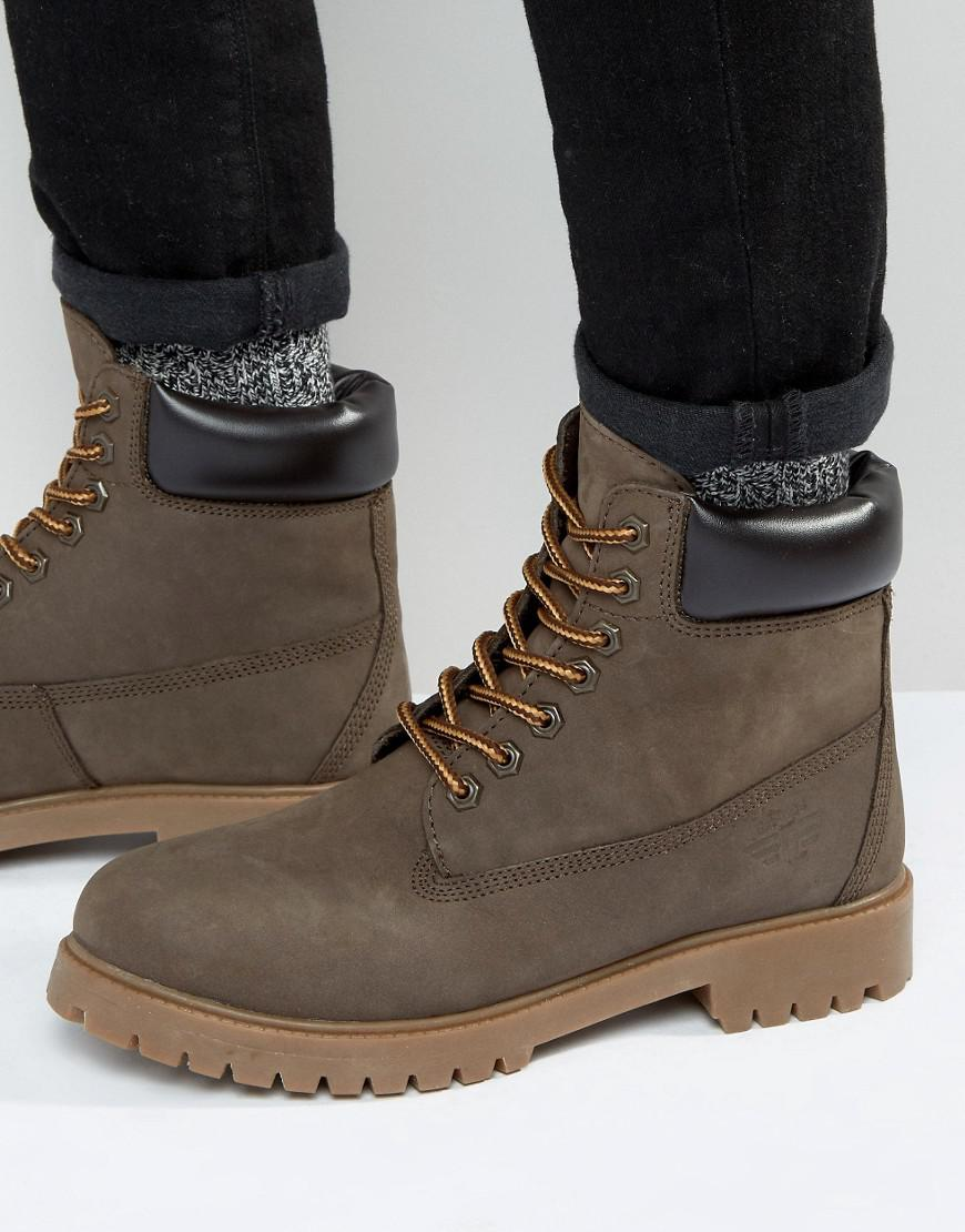 Red Tape Worker Boots in Brown for Men - Lyst