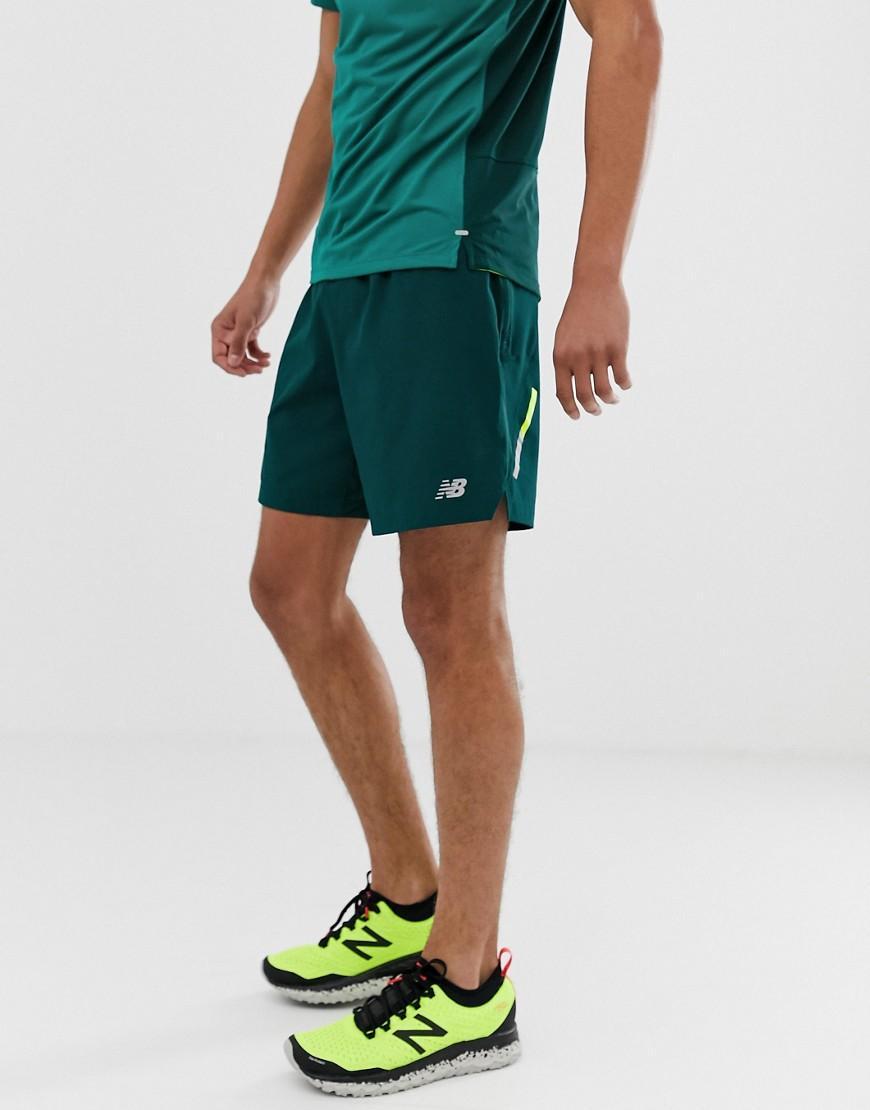 Impact New Running Jade De Cortos 7 Pantalones Verde Pulgadas IWED29HY