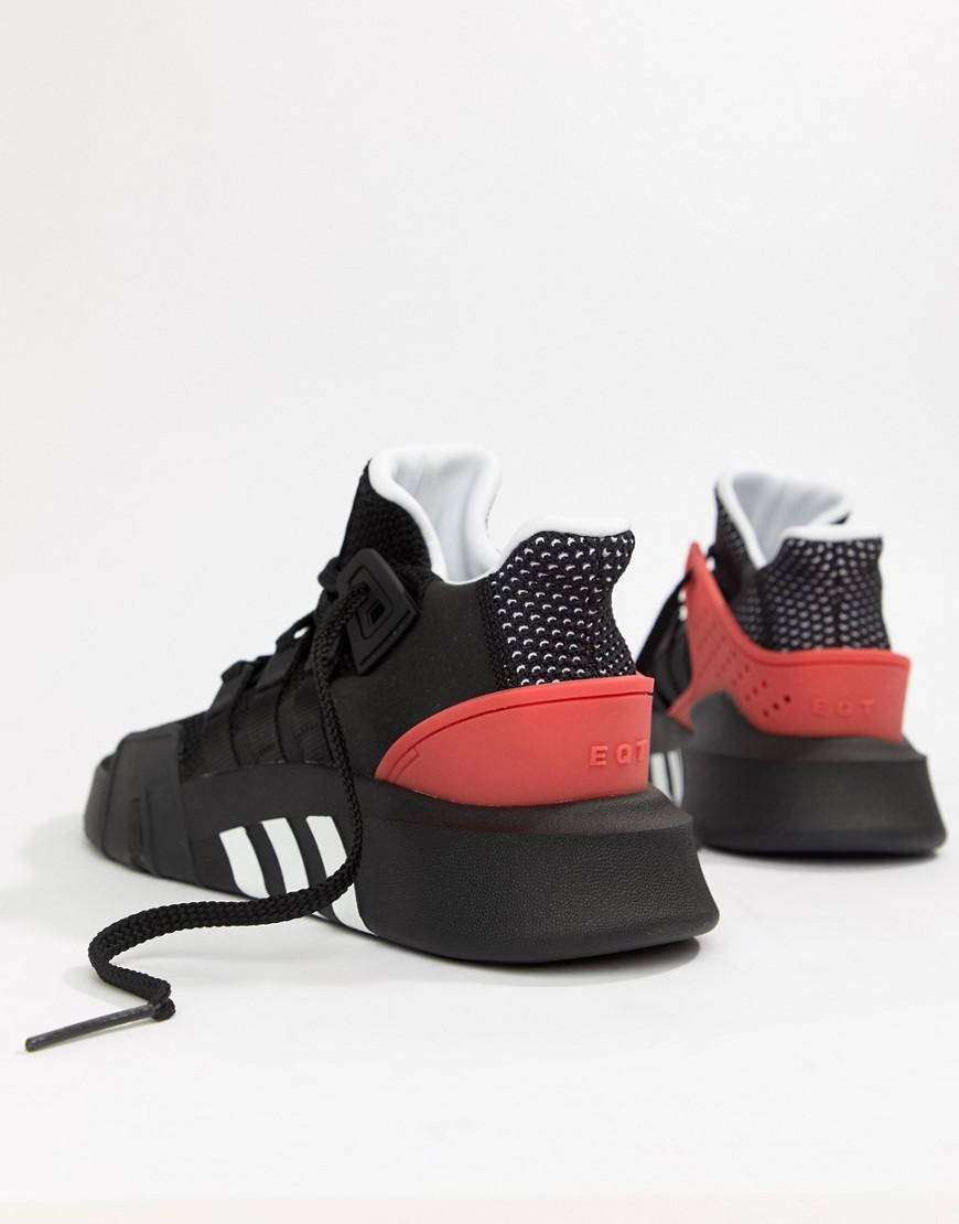 info for 89e15 8aa8f Lyst - adidas Originals Eqt Bask Adv Sneakers In Black Aq1013 in Black for  Men