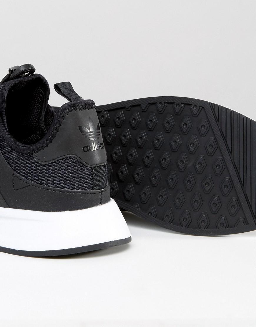 lyst adidas originali x a infrarossi dei formatori in nero bb1100 in nero per gli uomini.