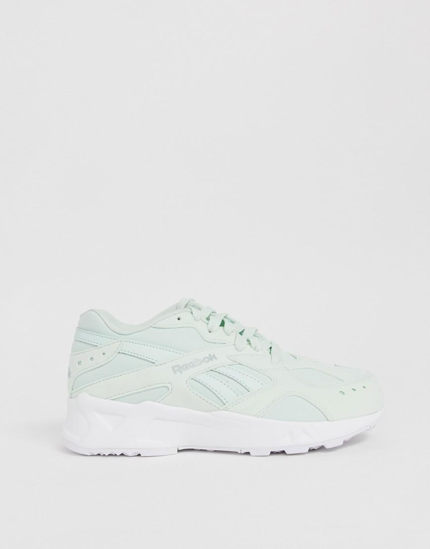 02c303a8aa41 Reebok Aztrek Sneakers In Mint Green in White - Lyst
