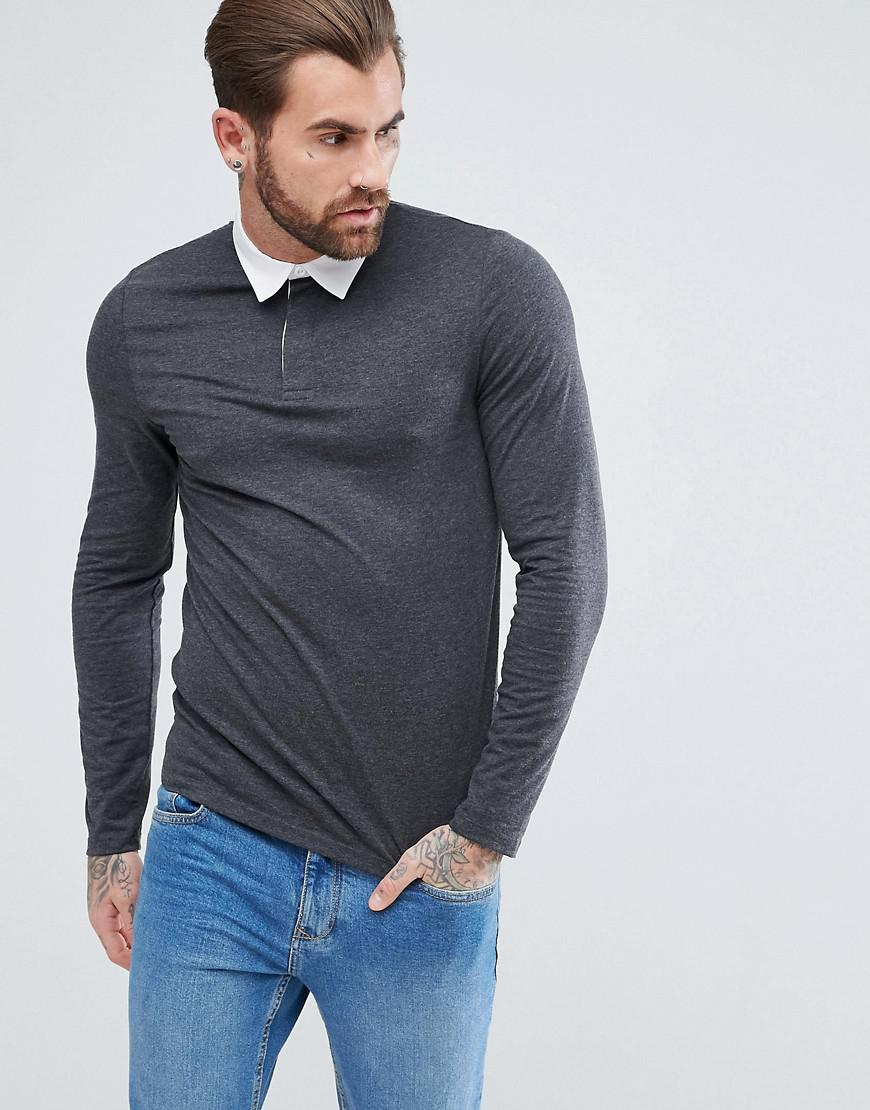 Rugby Style Long Sleeve Shirts