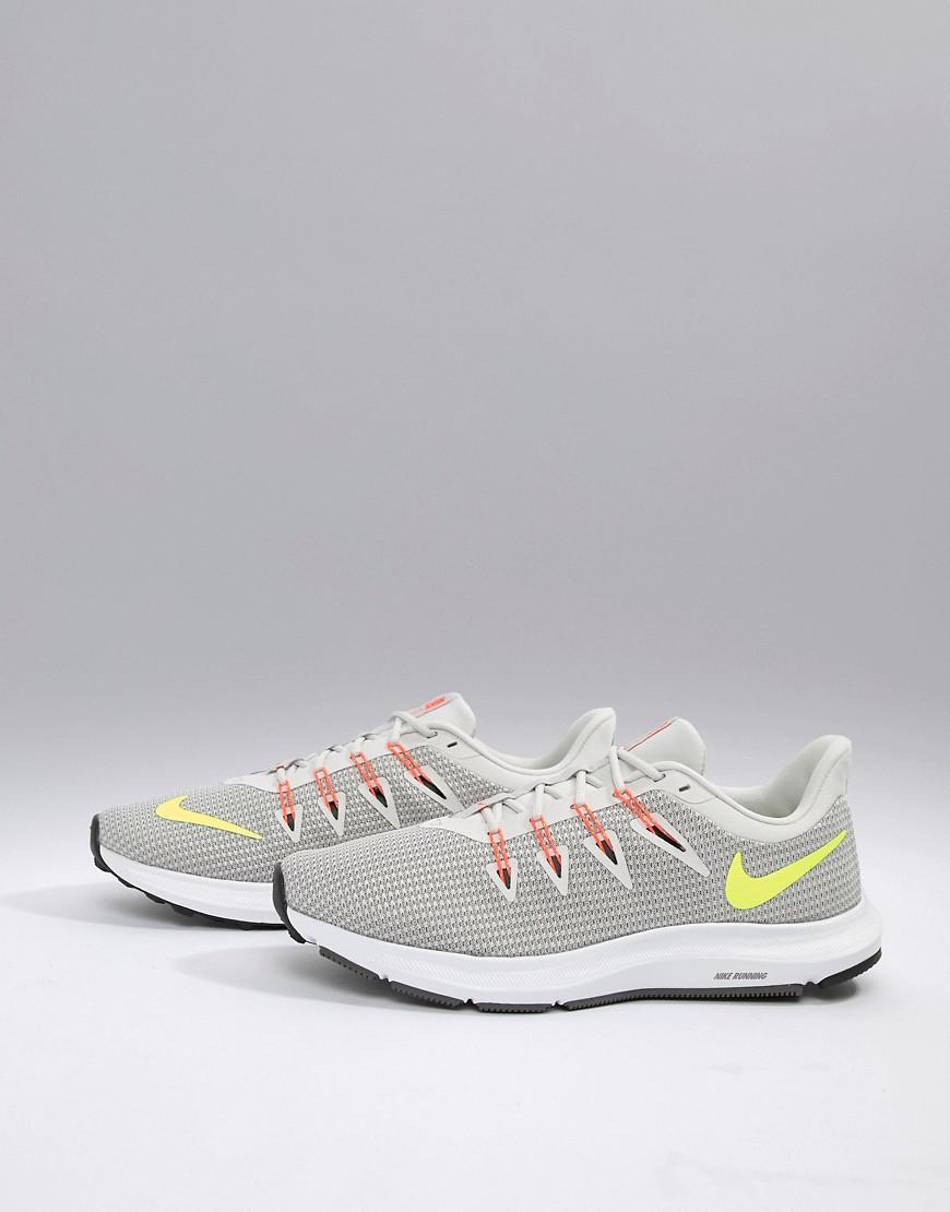 Nike Quest Sneakers In Grey Aa7403-003 in Gray for Men - Lyst 0c8d7d3d0