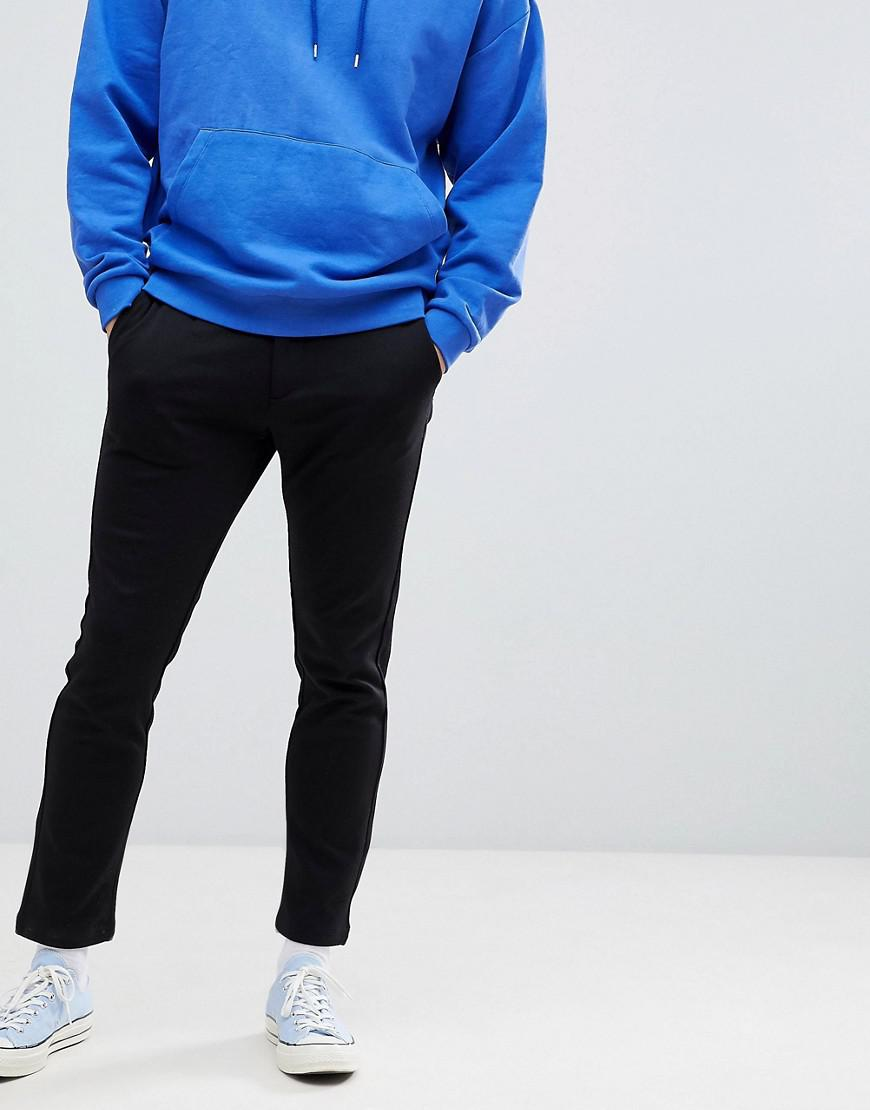 Slim Trouser With Pleated Front - Black Jack & Jones 52QipFDX
