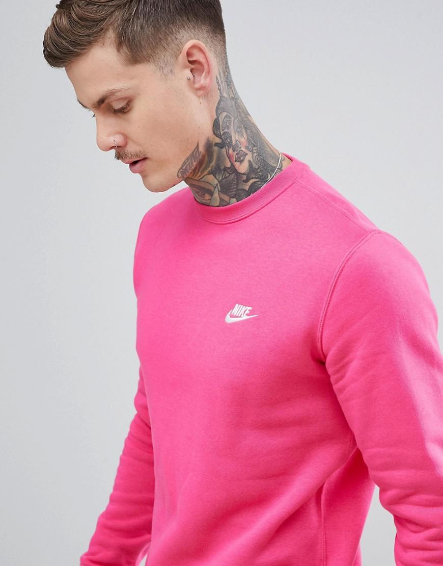 Sweat Virgule Rose Coloris En Nike Lyst Pour Homme Shirt fE1dyxq