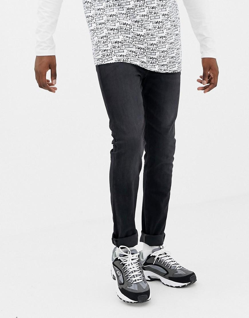 cf9ffbcb1 Lyst - Tommy Hilfiger Skinny Fit Simon Jeans In Washed Black in ...