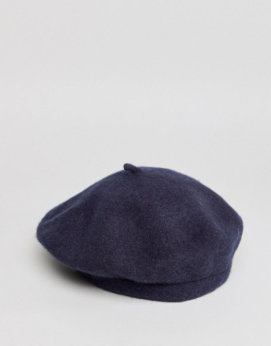 DESIGN Wool Beret - Lilac Asos aQCN9msqY