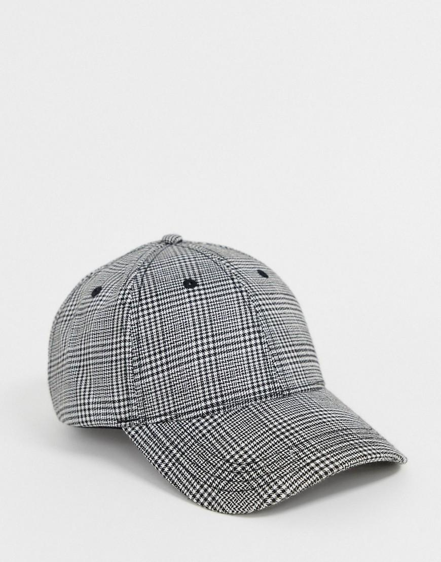 Jack   Jones Baseball Cap In Check in Blue for Men - Lyst c7f53402a2fa