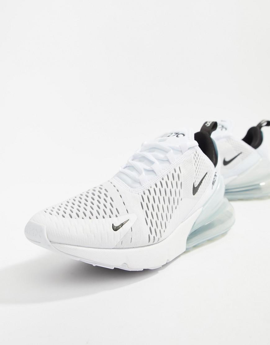 Nike Air Max 270 Trainers In White Ah8050-100 in White for Men - Lyst a046ed454