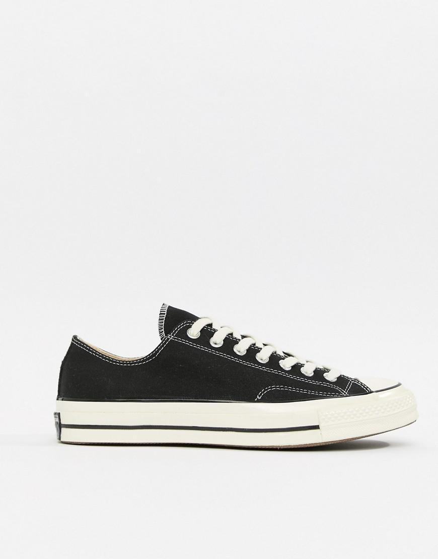 Lyst - Converse Chuck 70 Ox Sneakers In Black in Black for Men a8c010a41