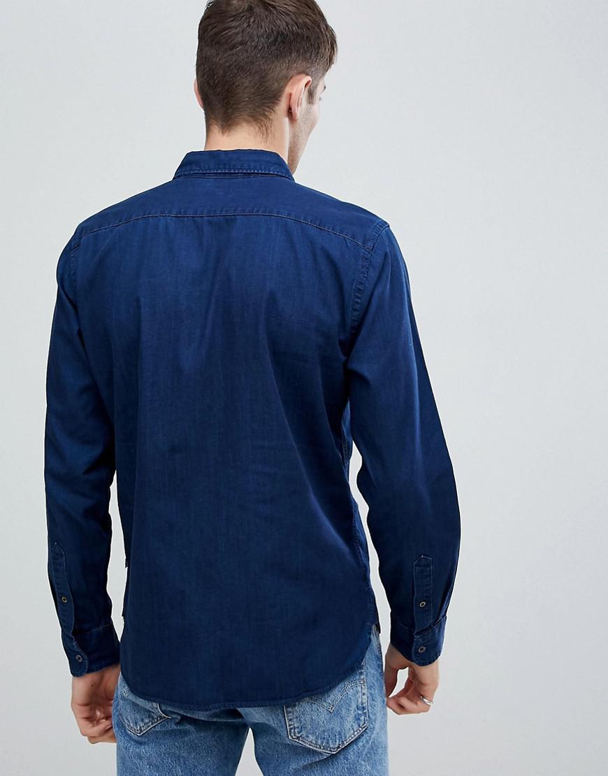 362e96fc9d Levi s Levi s Pacific Shirt Indigo in Blue for Men - Lyst
