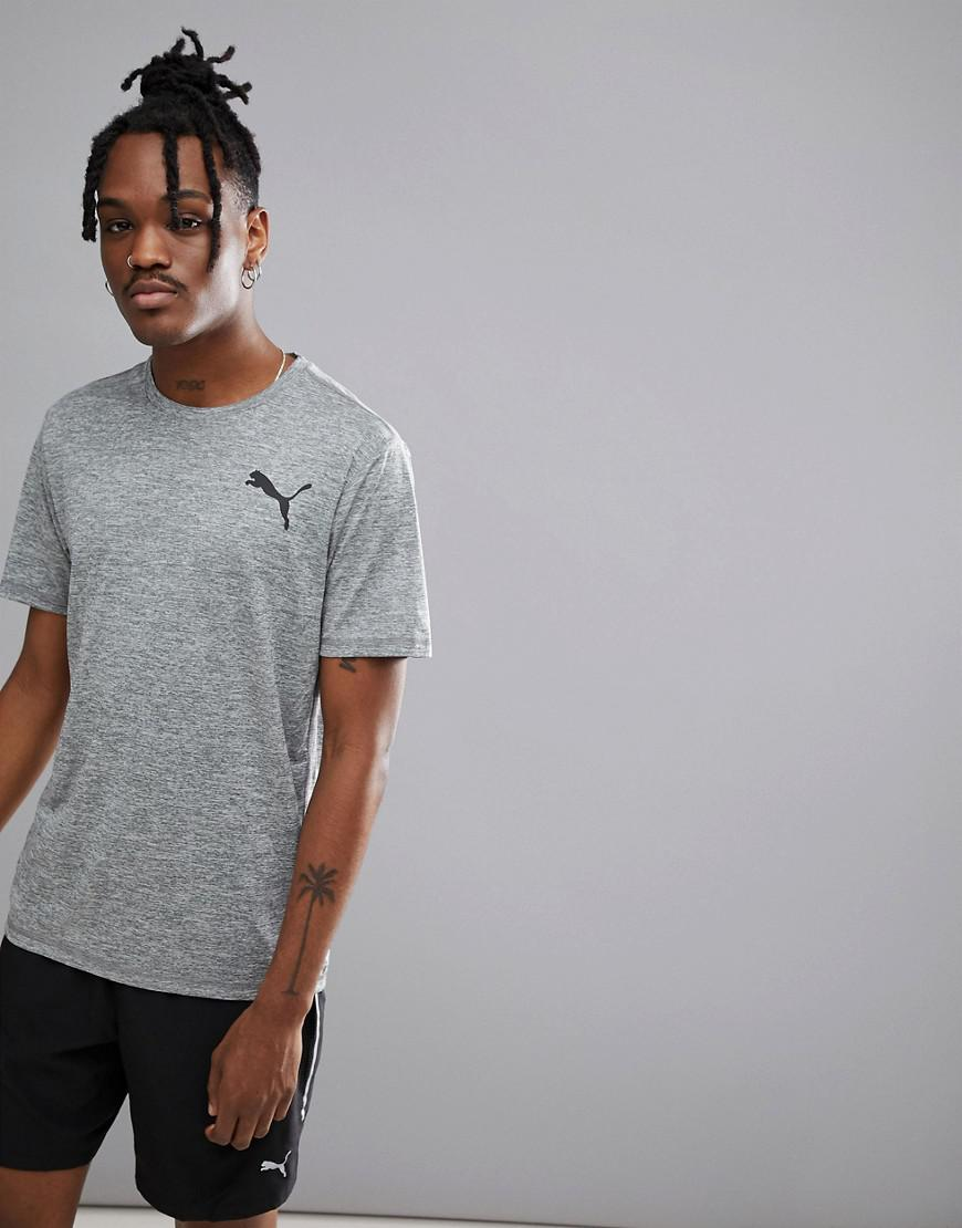 Running Essential Pure Tech T-Shirt In Grey Heather 51455102 - Grey Puma Find Great Online Outlet High Quality Extremely Classic Cheap Sale Amazing Price s9VVbF2V