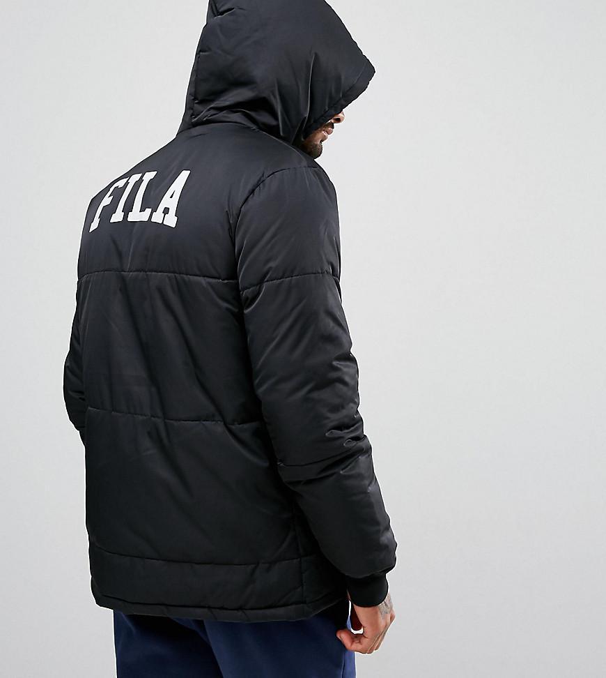 Men's black puffer jacket asos