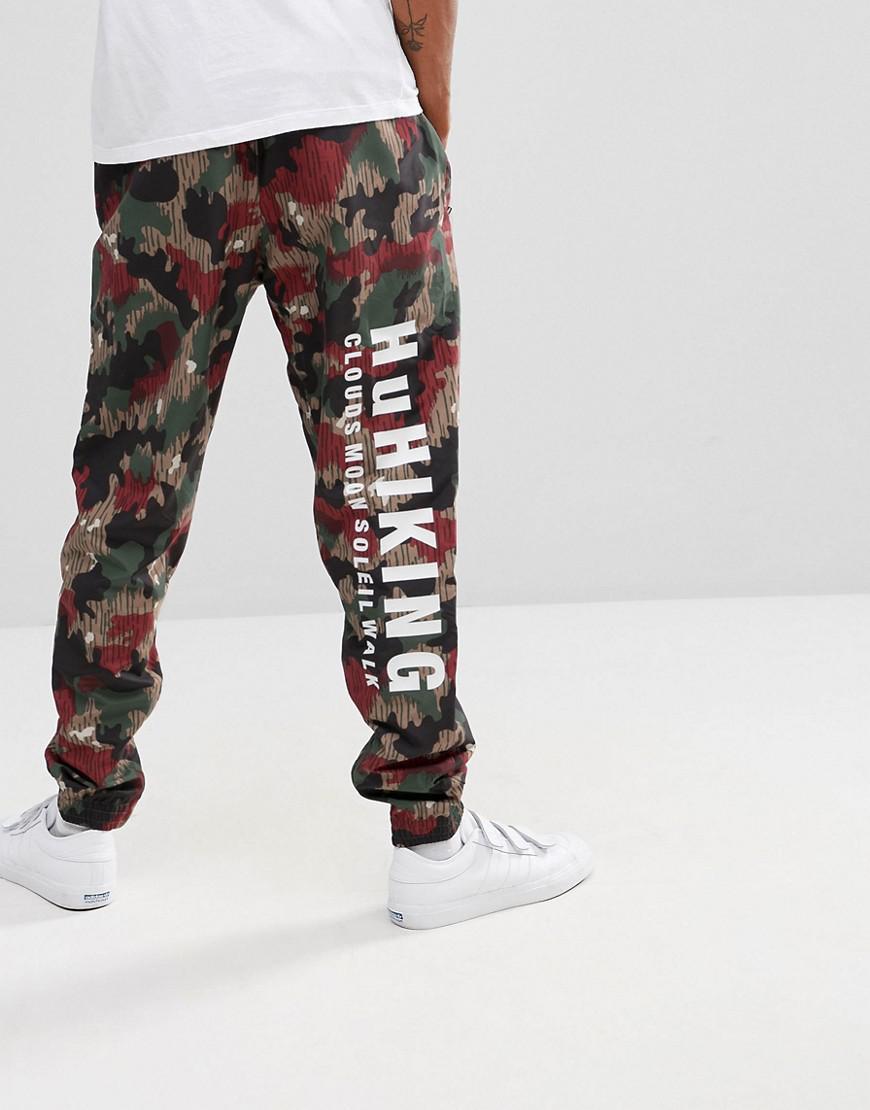 lyst adidas originali x pharrell williams hu escursionismo corridori in rosso