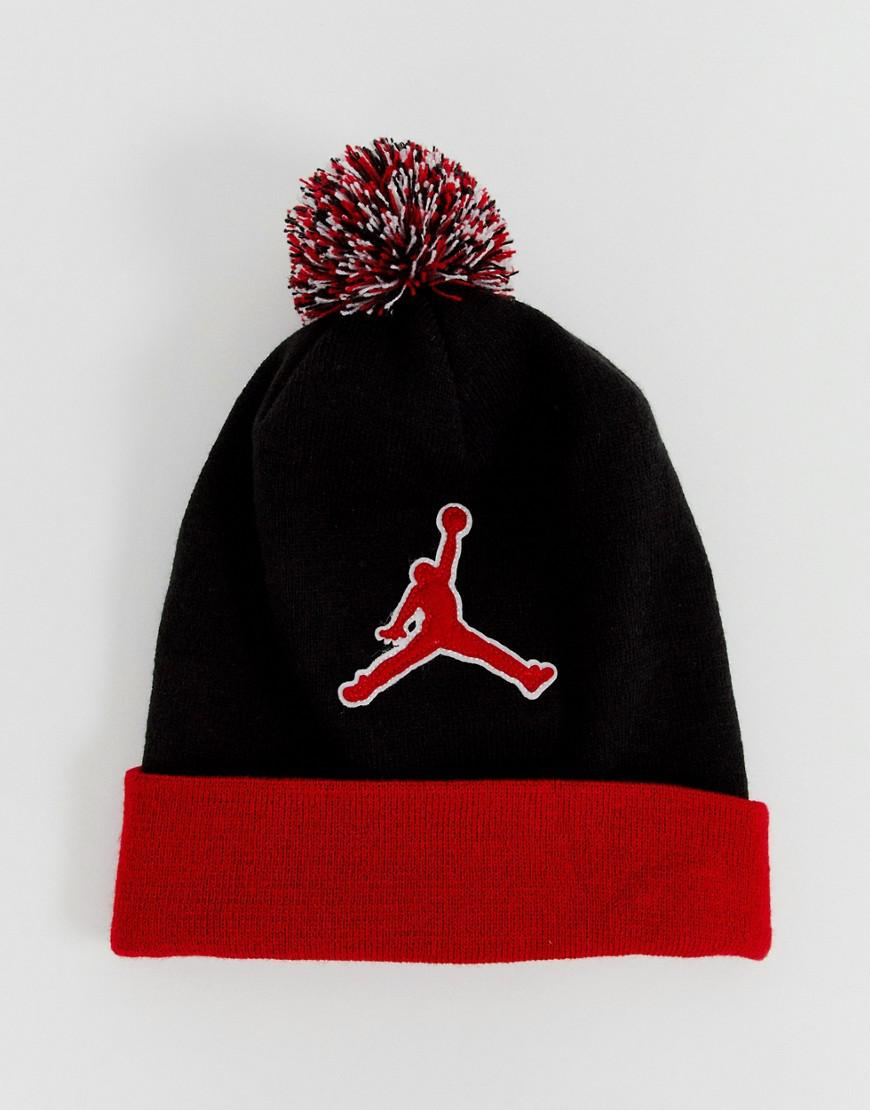 0ac2be179a6ef Nike Nike Jumpman Beanie In Red Aa1302-010 in Red for Men - Lyst