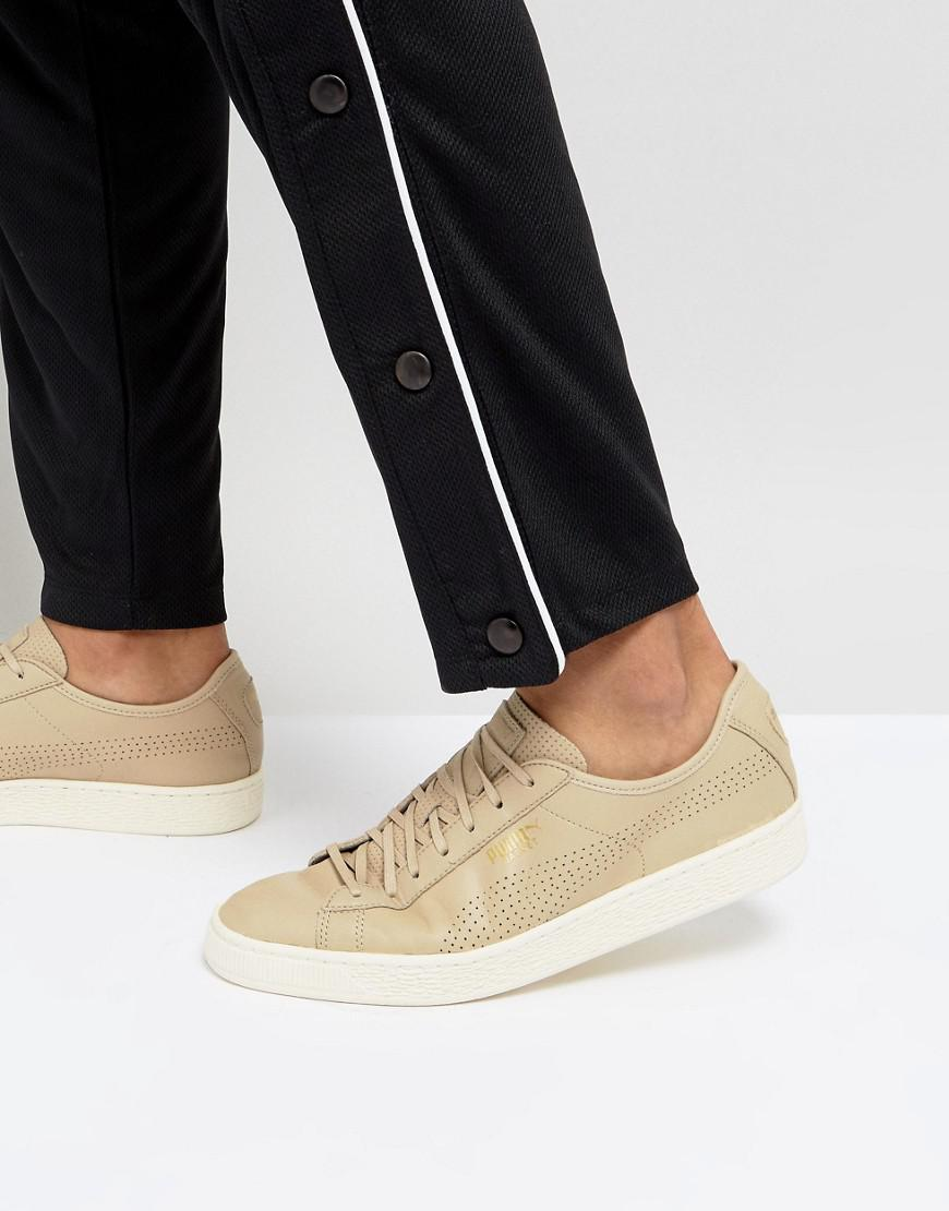 Puma Select Basket Classic Soft Sneakers In 36382405 ZzpKI