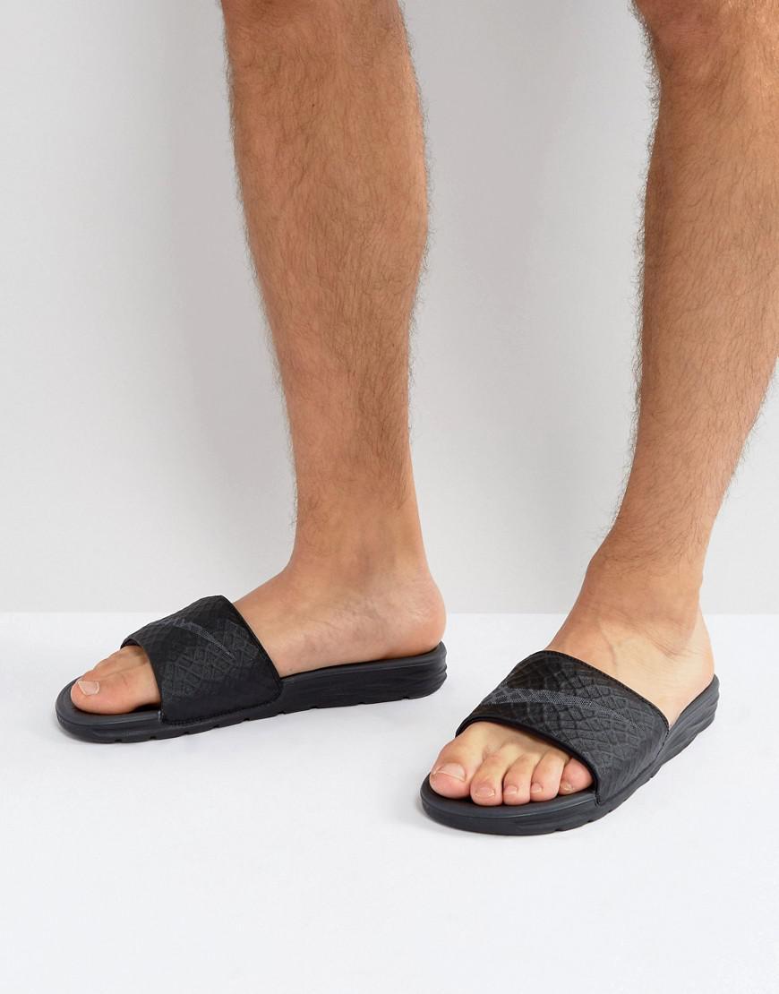 Nike. Men's Benassi Slider Flip Flops ...
