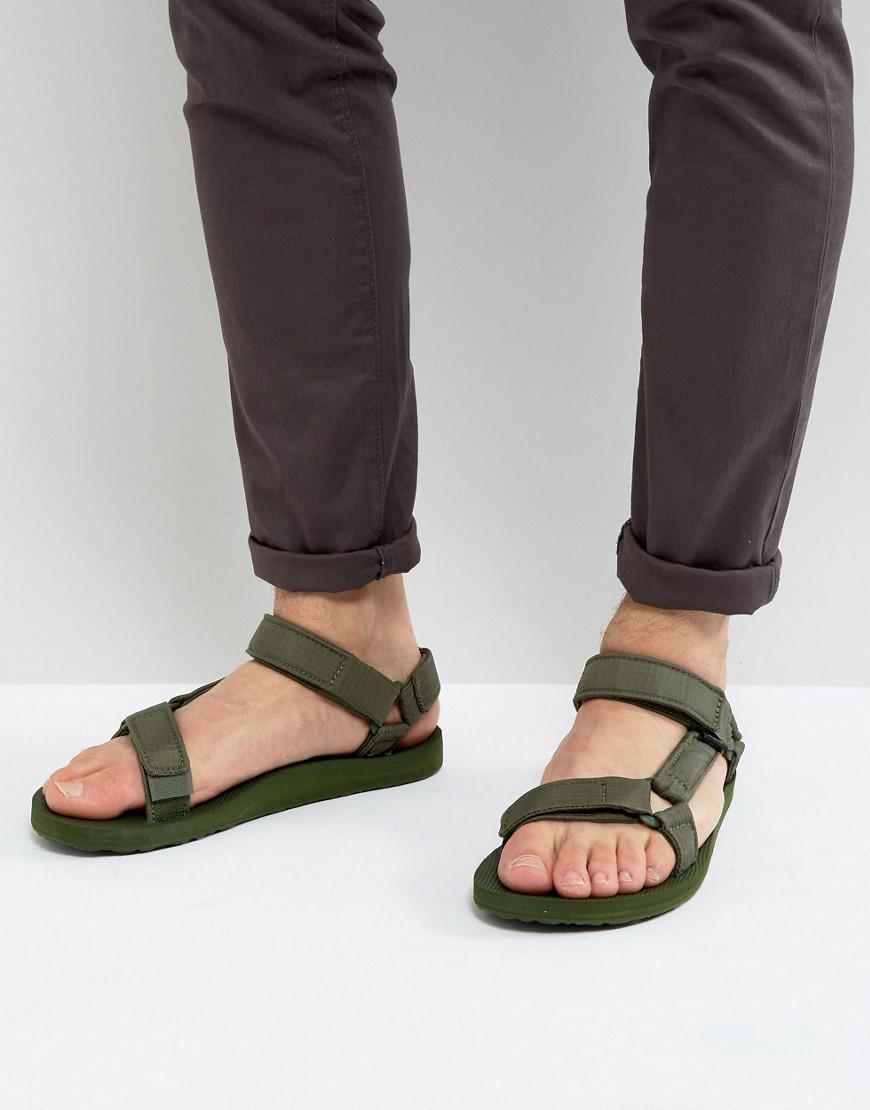 12860fe888df0d Teva Original Universal Ripstop Sandals in Green for Men - Lyst