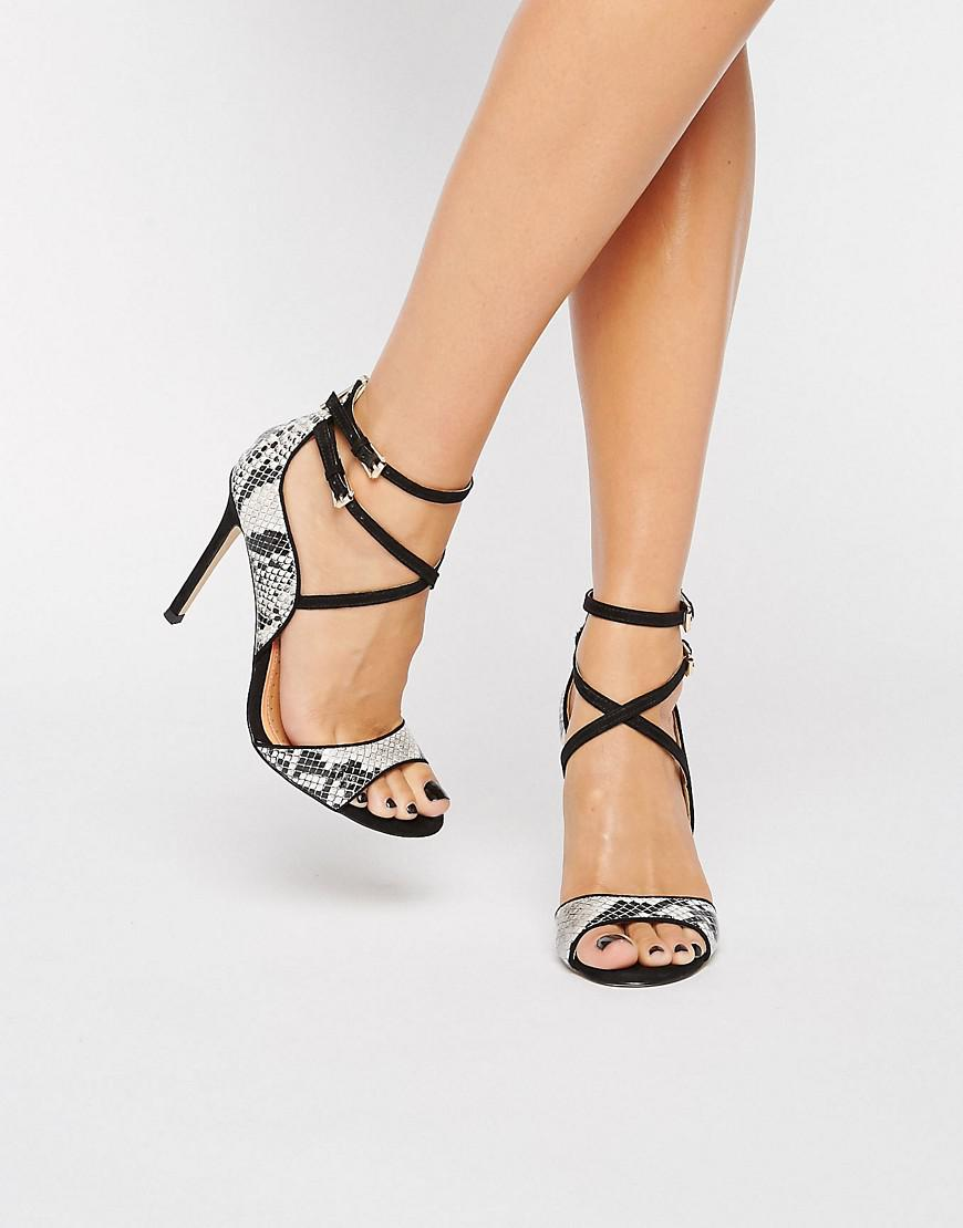 Miss Kg Synthetic Dea Sandals in Navy (Blue) - Lyst