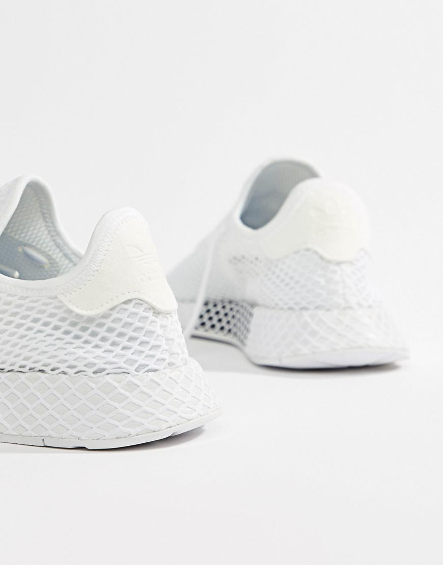 timeless design c5a16 f4775 adidas Originals Deerupt Runner Sneakers In White Cq2625 in White for Men -  Lyst