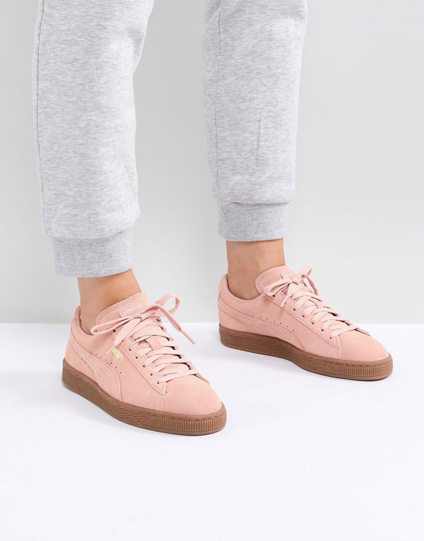 Lyst In Puma Sneaker Classic Suede Pink gngqIrd